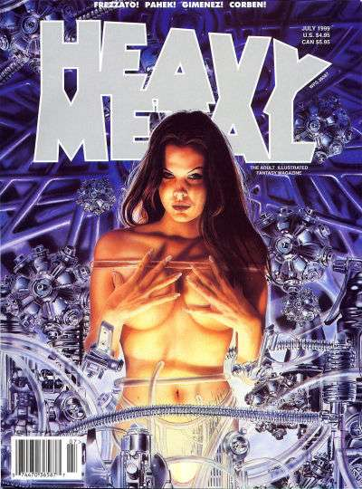 Heavy Metal: Volume 23 #3 Comic Books - Covers, Scans, Photos  in Heavy Metal: Volume 23 Comic Books - Covers, Scans, Gallery