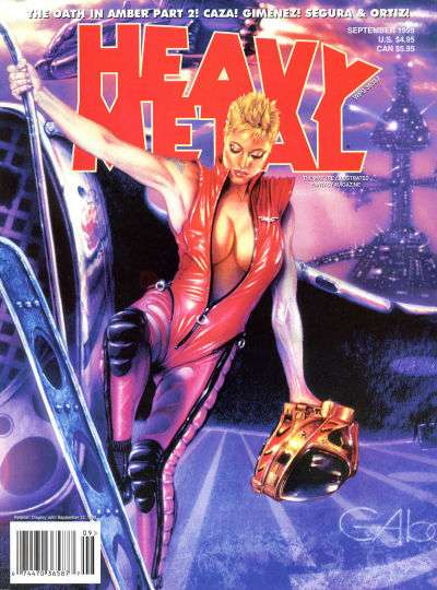 Heavy Metal: Volume 23 #4 Comic Books - Covers, Scans, Photos  in Heavy Metal: Volume 23 Comic Books - Covers, Scans, Gallery