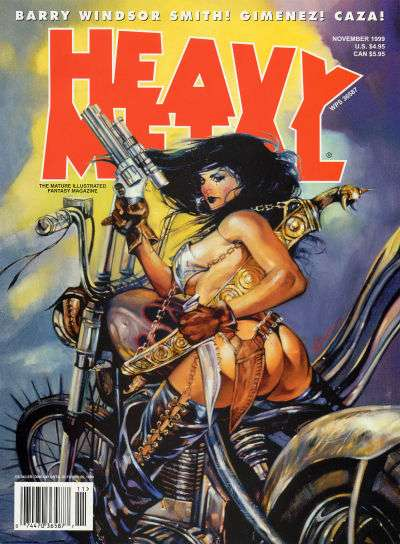 Heavy Metal: Volume 23 #5 Comic Books - Covers, Scans, Photos  in Heavy Metal: Volume 23 Comic Books - Covers, Scans, Gallery