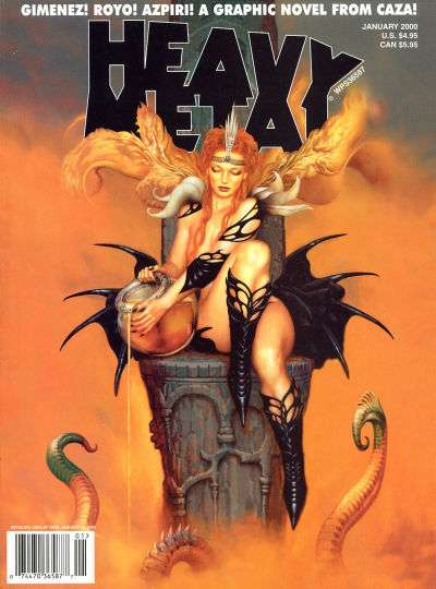 Heavy Metal: Volume 23 #6 Comic Books - Covers, Scans, Photos  in Heavy Metal: Volume 23 Comic Books - Covers, Scans, Gallery