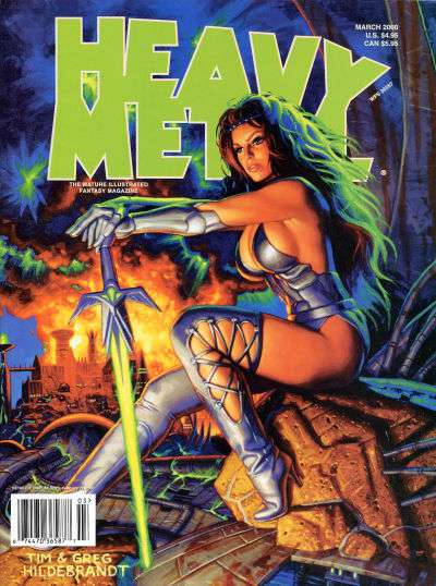 Heavy Metal: Volume 24 #1 comic books - cover scans photos Heavy Metal: Volume 24 #1 comic books - covers, picture gallery