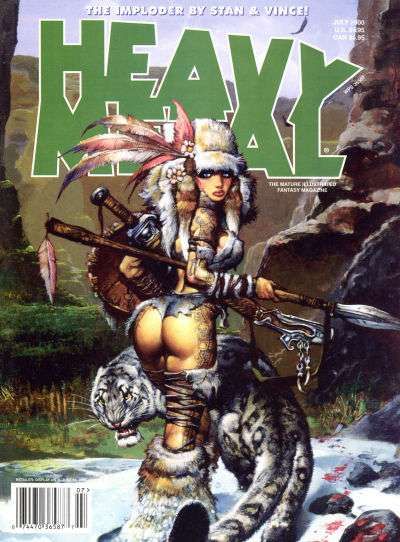 Heavy Metal: Volume 24 #3 comic books - cover scans photos Heavy Metal: Volume 24 #3 comic books - covers, picture gallery