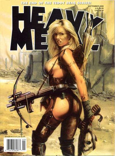 Heavy Metal: Volume 24 #4 Comic Books - Covers, Scans, Photos  in Heavy Metal: Volume 24 Comic Books - Covers, Scans, Gallery