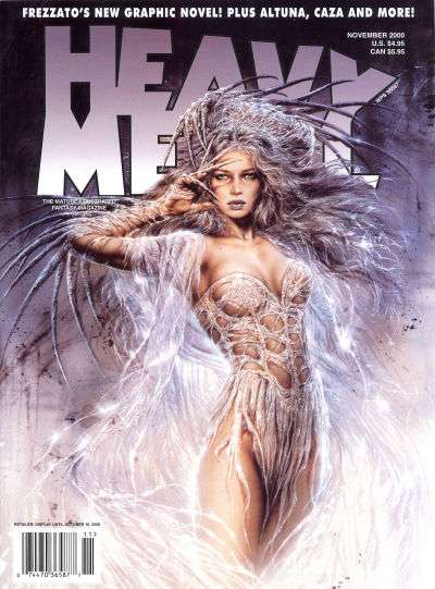 Heavy Metal: Volume 24 #5 Comic Books - Covers, Scans, Photos  in Heavy Metal: Volume 24 Comic Books - Covers, Scans, Gallery