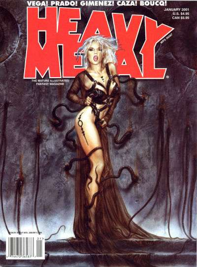 Heavy Metal: Volume 24 #6 Comic Books - Covers, Scans, Photos  in Heavy Metal: Volume 24 Comic Books - Covers, Scans, Gallery
