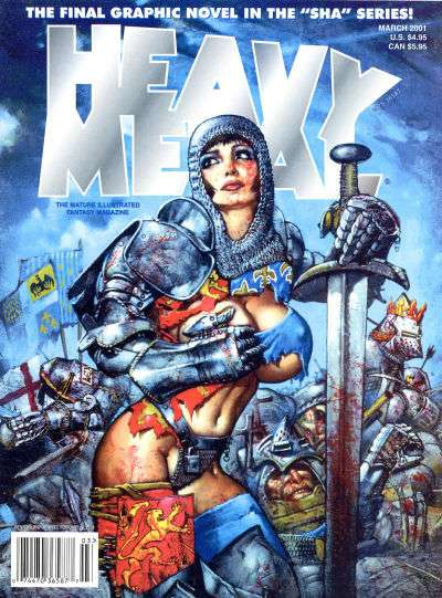 Heavy Metal: Volume 25 comic books