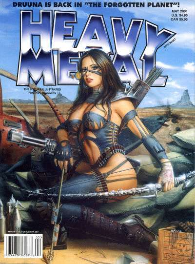 Heavy Metal: Volume 25 #2 Comic Books - Covers, Scans, Photos  in Heavy Metal: Volume 25 Comic Books - Covers, Scans, Gallery