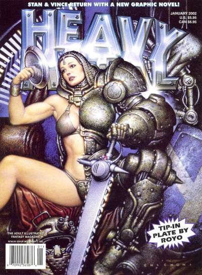 Heavy Metal: Volume 25 #6 Comic Books - Covers, Scans, Photos  in Heavy Metal: Volume 25 Comic Books - Covers, Scans, Gallery