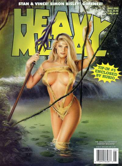 Heavy Metal: Volume 26 #2 Comic Books - Covers, Scans, Photos  in Heavy Metal: Volume 26 Comic Books - Covers, Scans, Gallery