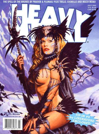 Heavy Metal: Volume 26 #3 Comic Books - Covers, Scans, Photos  in Heavy Metal: Volume 26 Comic Books - Covers, Scans, Gallery