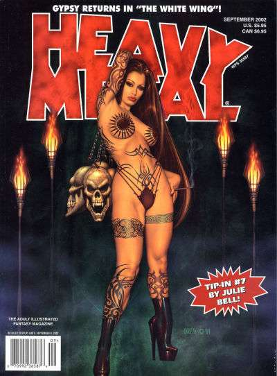 Heavy Metal: Volume 26 #4 Comic Books - Covers, Scans, Photos  in Heavy Metal: Volume 26 Comic Books - Covers, Scans, Gallery