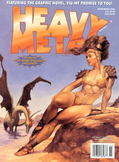Heavy Metal: Volume 26 #5 Comic Books - Covers, Scans, Photos  in Heavy Metal: Volume 26 Comic Books - Covers, Scans, Gallery