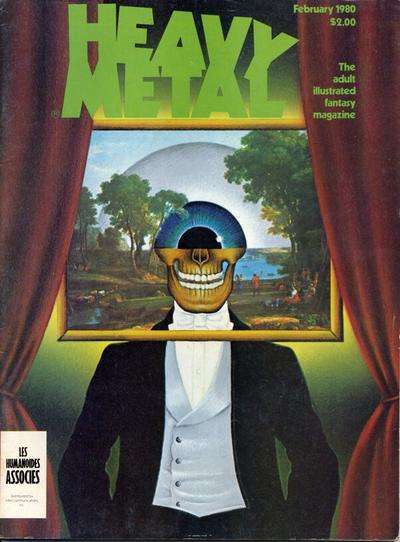 Heavy Metal: Volume 3 #10 comic books - cover scans photos Heavy Metal: Volume 3 #10 comic books - covers, picture gallery