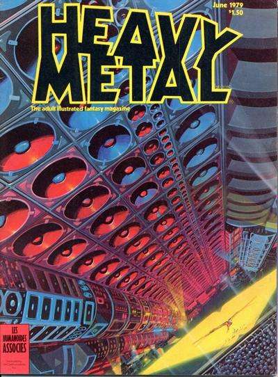 Heavy Metal: Volume 3 #2 Comic Books - Covers, Scans, Photos  in Heavy Metal: Volume 3 Comic Books - Covers, Scans, Gallery