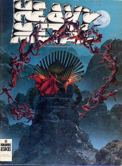 Heavy Metal: Volume 3 #3 comic books - cover scans photos Heavy Metal: Volume 3 #3 comic books - covers, picture gallery