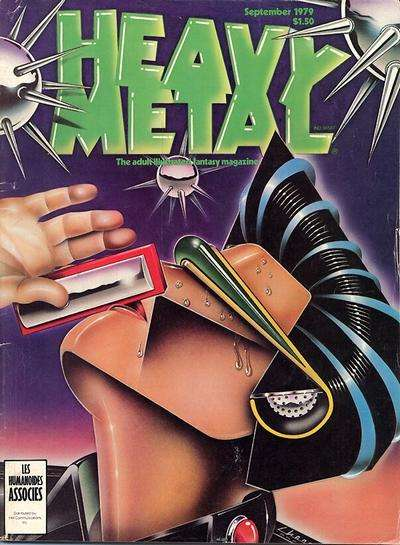 Heavy Metal: Volume 3 #5 Comic Books - Covers, Scans, Photos  in Heavy Metal: Volume 3 Comic Books - Covers, Scans, Gallery