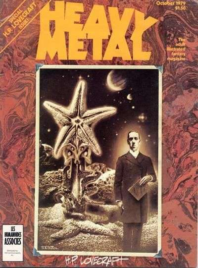 Heavy Metal: Volume 3 #6 comic books - cover scans photos Heavy Metal: Volume 3 #6 comic books - covers, picture gallery