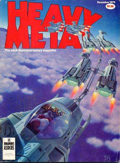 Heavy Metal: Volume 3 #8 Comic Books - Covers, Scans, Photos  in Heavy Metal: Volume 3 Comic Books - Covers, Scans, Gallery