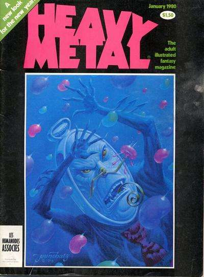 Heavy Metal: Volume 3 #9 comic books - cover scans photos Heavy Metal: Volume 3 #9 comic books - covers, picture gallery