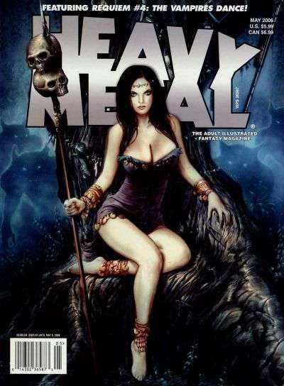 Heavy Metal: Volume 30 #2 Comic Books - Covers, Scans, Photos  in Heavy Metal: Volume 30 Comic Books - Covers, Scans, Gallery