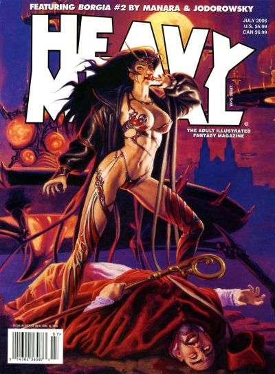 Heavy Metal: Volume 30 #3 Comic Books - Covers, Scans, Photos  in Heavy Metal: Volume 30 Comic Books - Covers, Scans, Gallery