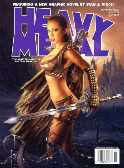 Heavy Metal: Volume 30 #5 Comic Books - Covers, Scans, Photos  in Heavy Metal: Volume 30 Comic Books - Covers, Scans, Gallery