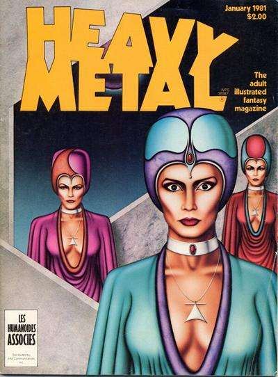 Heavy Metal: Volume 4 #10 comic books - cover scans photos Heavy Metal: Volume 4 #10 comic books - covers, picture gallery