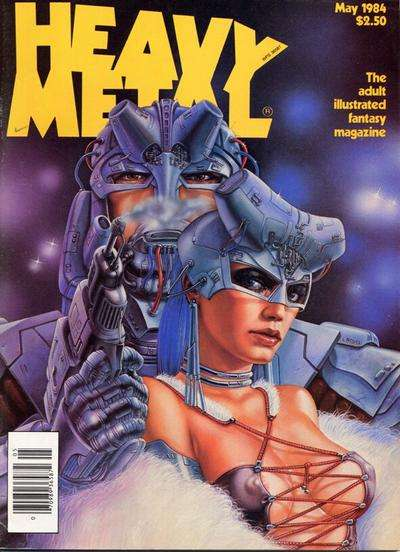 Heavy Metal: Volume 8 #2 comic books - cover scans photos Heavy Metal: Volume 8 #2 comic books - covers, picture gallery