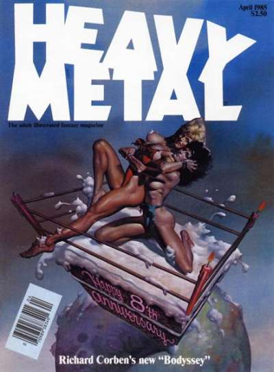 Heavy Metal: Volume 9 comic books