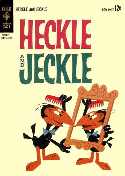 Heckle and Jeckle comic books