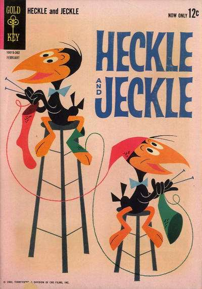 Heckle and Jeckle #2 Comic Books - Covers, Scans, Photos  in Heckle and Jeckle Comic Books - Covers, Scans, Gallery