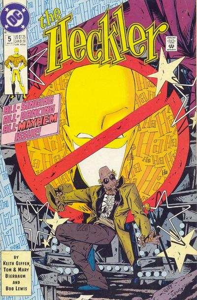 Heckler #5 comic books - cover scans photos Heckler #5 comic books - covers, picture gallery