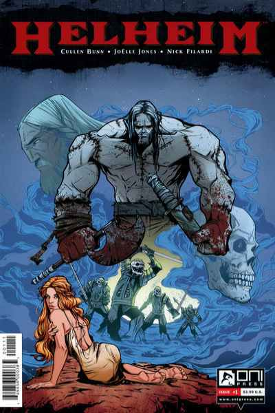Helheim comic books