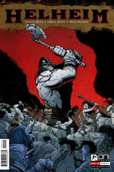 Helheim #2 comic books for sale