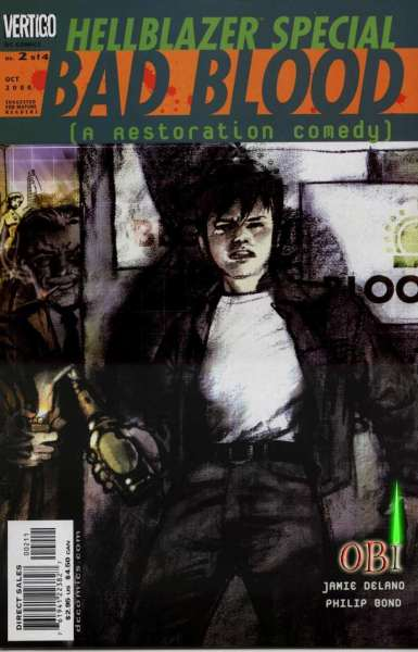 Hellblazer Special: Bad Blood #2 comic books for sale