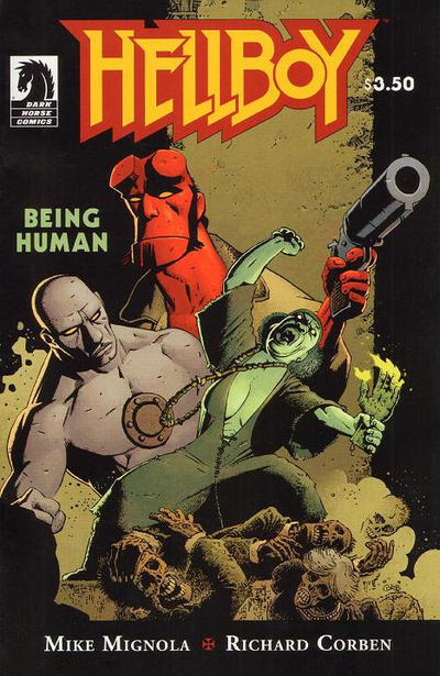Hellboy: Being Human #1 Comic Books - Covers, Scans, Photos  in Hellboy: Being Human Comic Books - Covers, Scans, Gallery