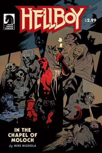Hellboy: In the Chapel of Moloch comic books