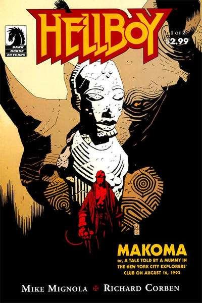 Hellboy: Makoma comic books