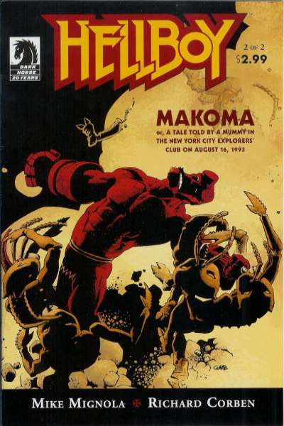 Hellboy: Makoma #2 Comic Books - Covers, Scans, Photos  in Hellboy: Makoma Comic Books - Covers, Scans, Gallery