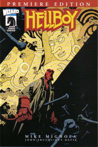 Hellboy Premiere Edition comic books