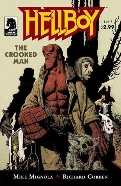 Hellboy: The Crooked Man comic books