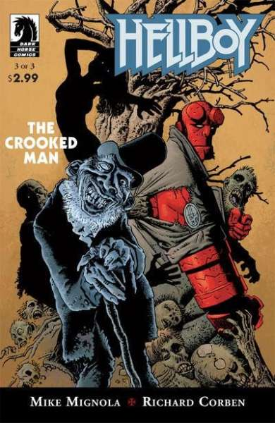 Hellboy: The Crooked Man #3 comic books - cover scans photos Hellboy: The Crooked Man #3 comic books - covers, picture gallery