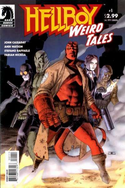 Hellboy: Weird Tales #1 comic books - cover scans photos Hellboy: Weird Tales #1 comic books - covers, picture gallery