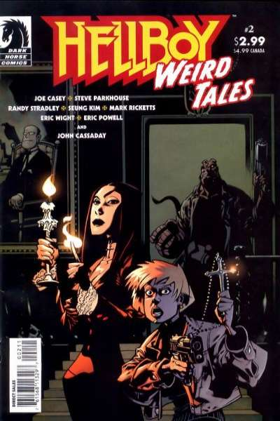 Hellboy: Weird Tales #2 Comic Books - Covers, Scans, Photos  in Hellboy: Weird Tales Comic Books - Covers, Scans, Gallery