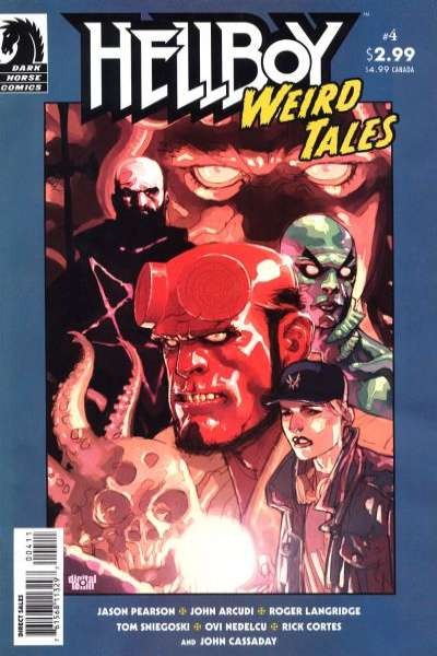 Hellboy: Weird Tales #4 Comic Books - Covers, Scans, Photos  in Hellboy: Weird Tales Comic Books - Covers, Scans, Gallery