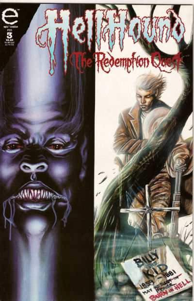 Hellhound: The Redemption Quest #3 comic books for sale