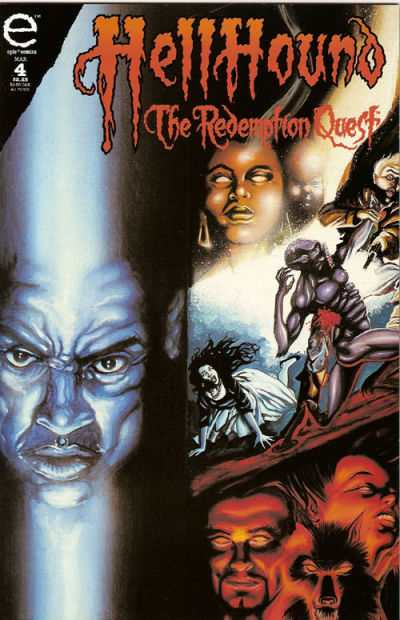 Hellhound: The Redemption Quest #4 comic books - cover scans photos Hellhound: The Redemption Quest #4 comic books - covers, picture gallery