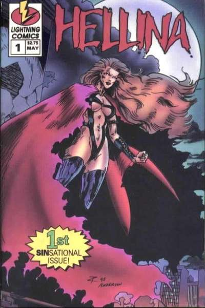 Hellina #1 comic books - cover scans photos Hellina #1 comic books - covers, picture gallery