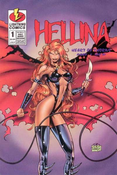 Hellina: Heart of Thorns #1 comic books for sale