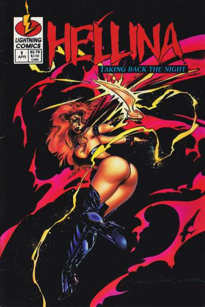 Hellina: Taking Back the Night #1 comic books for sale